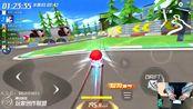 跑跑卡丁车:经典地图2分4秒,主播比比会bb冠军时刻