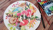 【Sakari's journal】人生就是不停剁手—美利蓝蜂鸟试用+某牌圆形水彩纸