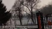 庚子正月初五东北吉林市江北公园里空无一人有点吓人什么情况