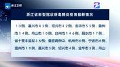 浙江省:截至2月23日24时 无新增新型冠状病毒肺炎确诊病例