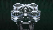 MB&F HM6 Alien Nation Watch Sculpting The White Gold Aliens