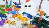 宝宝恐龙小剧场 第142集 在雪山之巅生活的恐龙族群