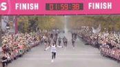 基普乔格,1小时59分40秒!人类马拉松成绩首次迈入2小时大关!