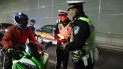 """""""有代驾记录啊""""醉驾男子被查百般抵赖 北京交警:就是你,监控全拍下来了"""