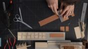 建筑模型制作教程 part 1(英文字幕)