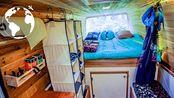 21岁小伙卖掉西雅图的公寓,改造奔驰斯宾特VanLife房车,LIFE ON ROAD【Van Life房车改装案例 138】 | AoneLife