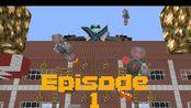 【绿甲虫搬运】科技機械人 Ep 1【Minecraft】:捕抓魔法人