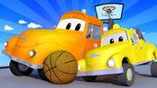 汽车城之拖车汤姆 第3季 第12集 绳子风波