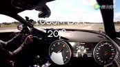 3.5秒破百 RS 6 0-300km h加速实录