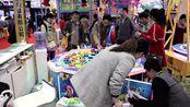 济宁微装在北京展会儿童钓鱼机受到观众欢迎,Z纷纷上前一试身手