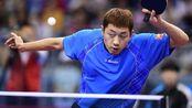 """这一球开挂了吧?韩国选手挑衅国乒,却被""""大蟒""""闭着眼睛打了11:0"""