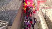 山西阳泉平定农村小伙结婚视频,全村人都出来迎接新娘,真热闹!