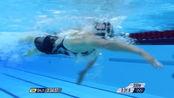 精彩回顾:伦敦奥运会,凯蒂·莱德基赢得女子800米自由泳金牌