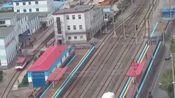 西露天矿坑旅游观光车,由矿务局电车站发车