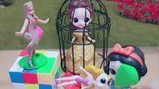 小仙女把做坏事的贝儿公主关了起来,贝儿不知道悔改还恶言伤人,小朋友你们希望贝儿被关多久?
