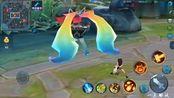 【游戏】王者荣耀:安琪拉心灵骇客,对比玩家自制白发魔女,良心