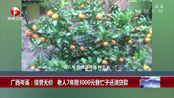 广西岑溪:信誉无价 老人7年攒3000元替亡子还清贷款