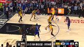 23日NBA最佳扣篮 莱昂纳德平地惊雷飞跃暴扣