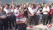梅州大埔县何氏祭祖盛况;大家用竹竿抬着灯笼去祖坟,你们见过吗