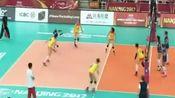 中国女排VS意大利关键一分!安家杰一个暂停,比赛立马发生改变