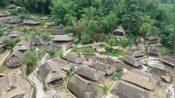 中国最后一个原始部落云南边境,世界佤山,无人机的视角下还挺奇特!