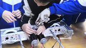 佛山华英学校FRC机器人:RADIUM 8164 寒假集训纪录(堆积木式+配乐视频)
