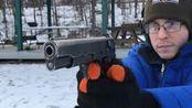 【搬运/没什么字幕可加】波兰ViS wz. 35手枪 第一人称视角射击