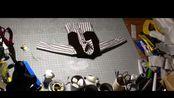 原创定格动画短片制作花絮11-野蛮人脱掉毛发,穿起马甲