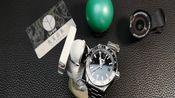 VSFactory欧m茄海马600米215.30.44.22.01.001双色陶瓷太极全gmt双时区8800机芯43.5mm潜水腕表测评