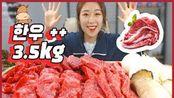 多肉(●V●)韩国美女吃播阿米亚小姐姐韩牛+3.5kg!!!!!!!