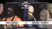 PWG BOLA 2019.09.20 関本大介 & Jonathan Gresham vs. Jeff Cobb & Brody King