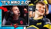 【CSGO】NIKO'S COUSIN COULD BE BETTER THAN NIKO? S1MPLE HAD ENOUGH OF NOOBS IN FP