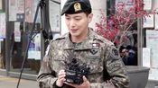 郑容和退伍!3日,郑容和结束了国防义务期满退伍并发表感言。