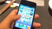 收到一款经典的iphone4s