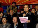 蒲县参加临汾市第二届老年人体育健身大会图片集锦 健身腰鼓