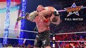 WWE布洛克莱斯纳VS约翰塞纳