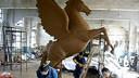 武汉韵城雕塑公司13971418979www.whyuncheng.cn不锈钢雕塑,铸铜锻铜雕塑,玻璃钢雕塑