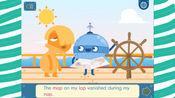 机器人英文map lap nap单词拼写小课堂亲子双语动画益智早教