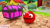 M豆 小红豆探险之路 汽车 儿童玩具 动画片