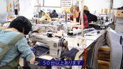 STU48大谷満理奈さんと峯吉愛梨沙さん、国産ジーンズ誕生の地でジーンズ作り体験