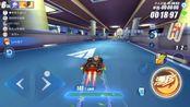 QQ飞车手游:平民玩家开着魔王起飞,城市网吧能到极限吗