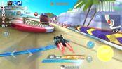 QQ飞车手游:香波岛排位赛,玄武这辆A车还是很好用的,很稳