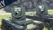 【Angus James】 《坦克世界闪击战》 WoTBlitz - KV-2:我神教今天也要秦王走位