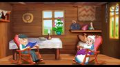 英文原声 姜饼小人的故事~圣诞节快乐呀小朋友们~The Gingerbread Man - Animated Fairy Tales For Children