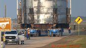 [转载]星舰Mk1移动和吊装到发射台上(视频和图片)