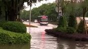 【拍客】广西贺州遭暴雨袭击 江河水位暴涨城区内涝严重