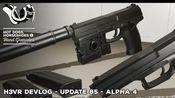 H3VR《热狗马蹄铁和手榴弹》2月8日更新Update 85 Alpha4 HKMk23战斗手枪 占点模式更新及更多!