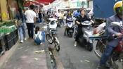 广东珠海有一个地方叫金湾区新铺路,五点多钟特别多人买来买菜