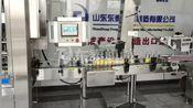 山东大桶消毒液定量灌装机 84灌装机成套设备工厂试机完整版