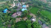 航拍中国:重庆市合川区龙凤镇常青村,好美啊,好想在这里度假!